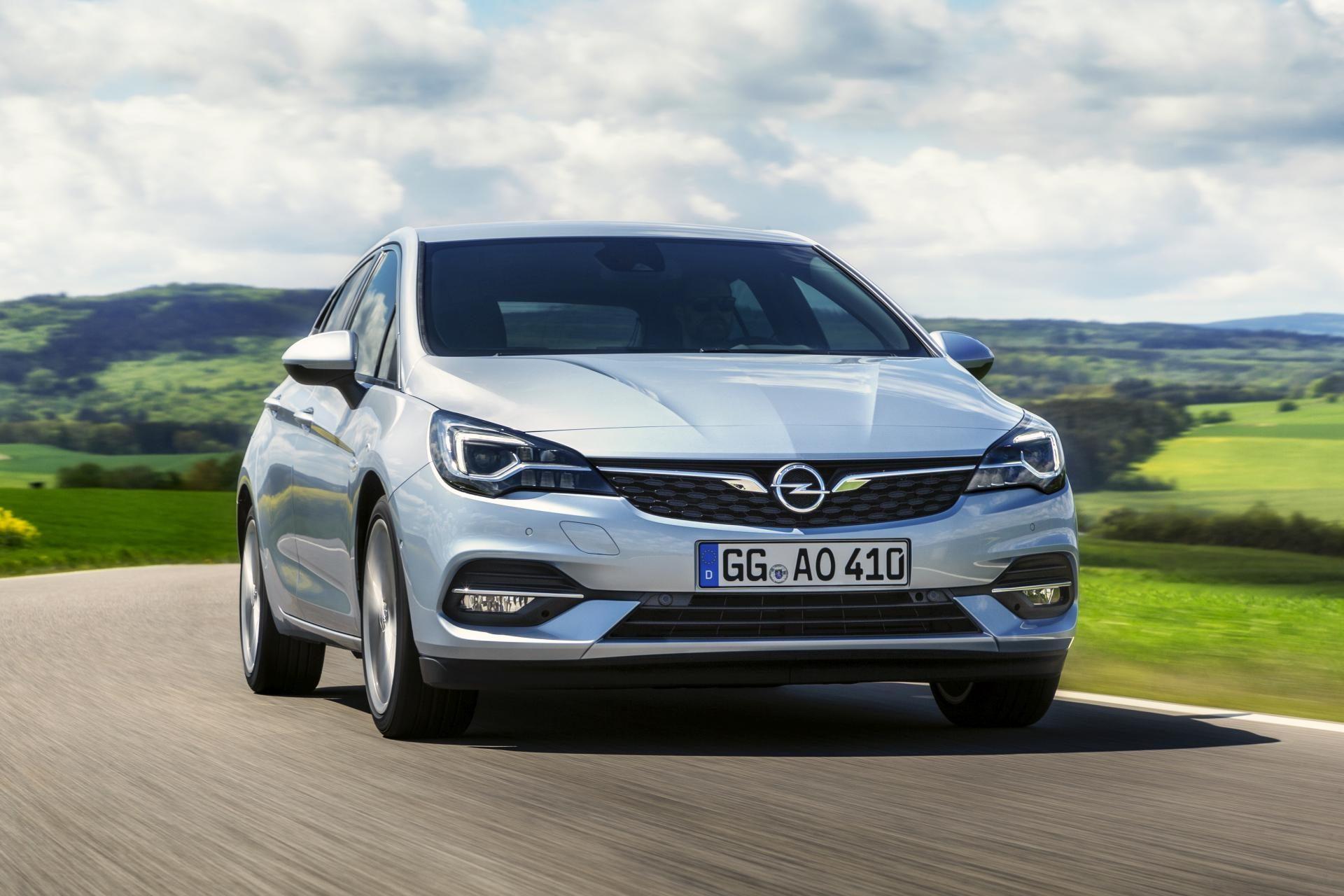 Opel Astra K facelift