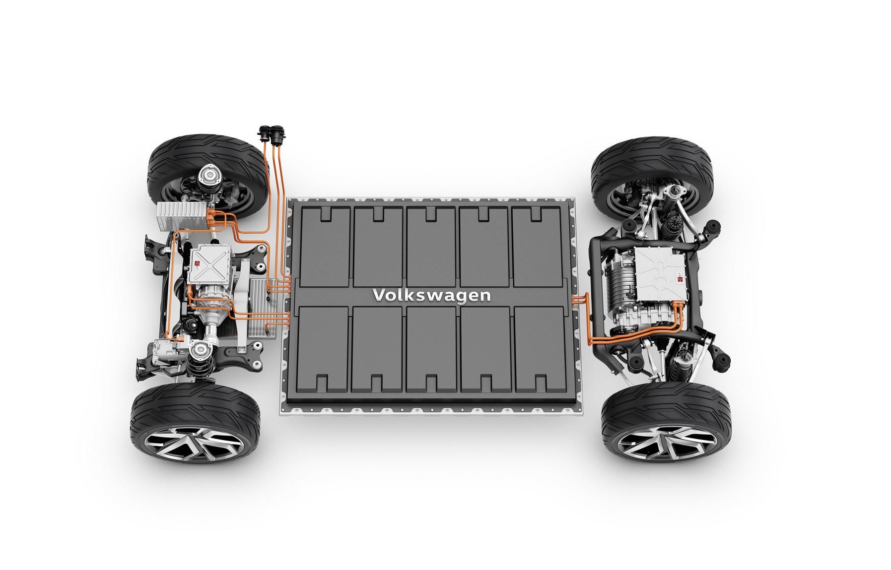 masini electrice volkswagen acumulatori
