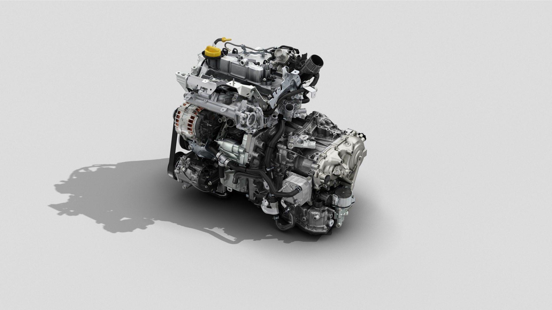 Dacia Duster TCe 100 motor