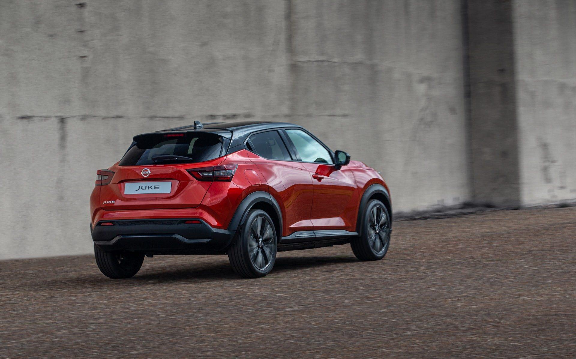Nissan Juke 2019 spate