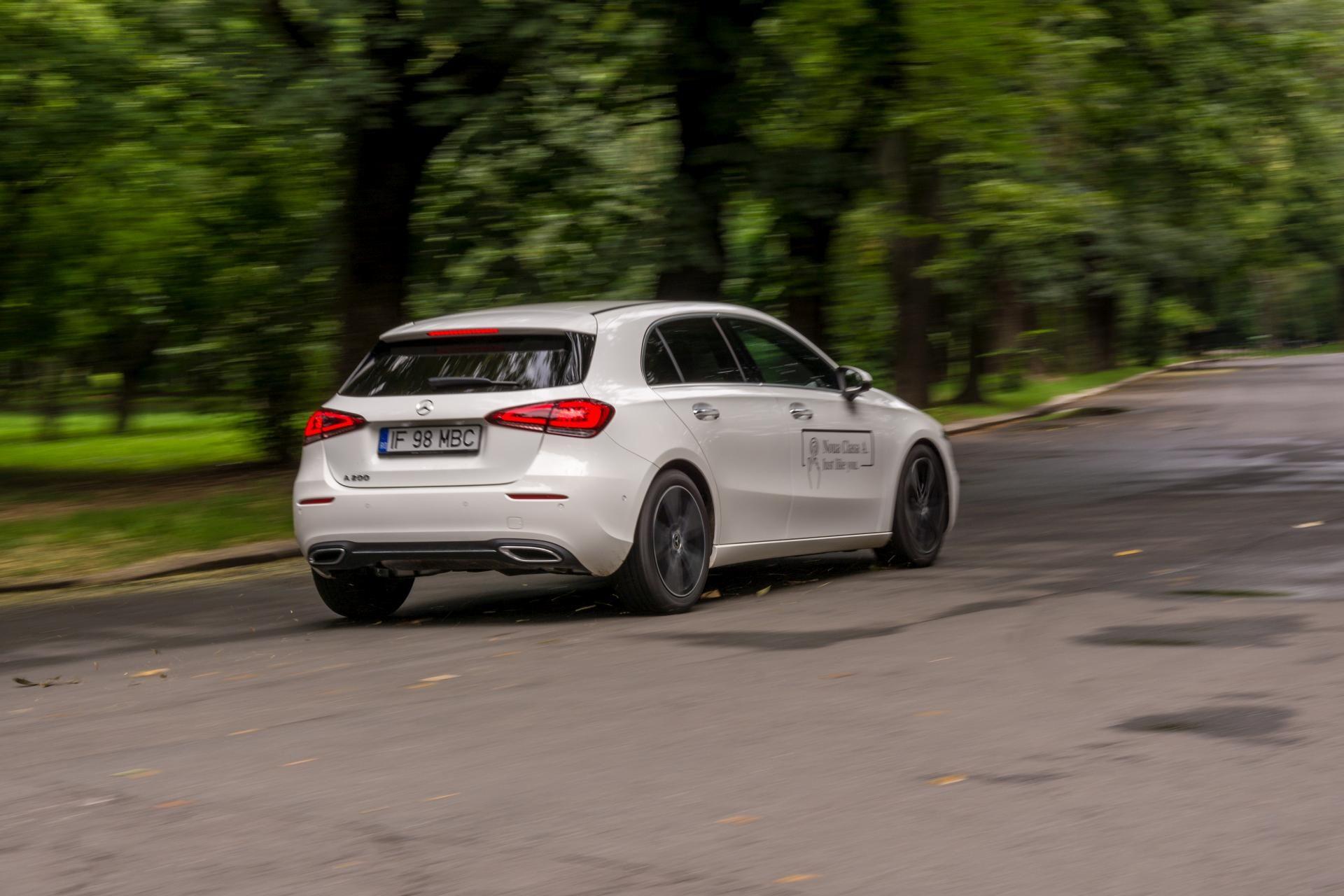 Mercedes-Benz A 200 spate