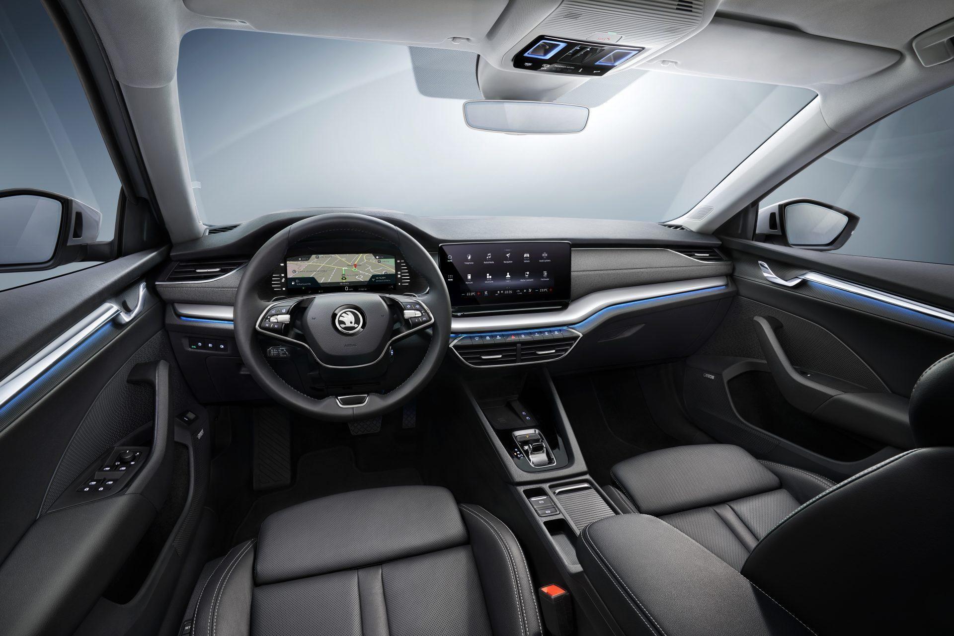 Skoda Octavia 2019 interior