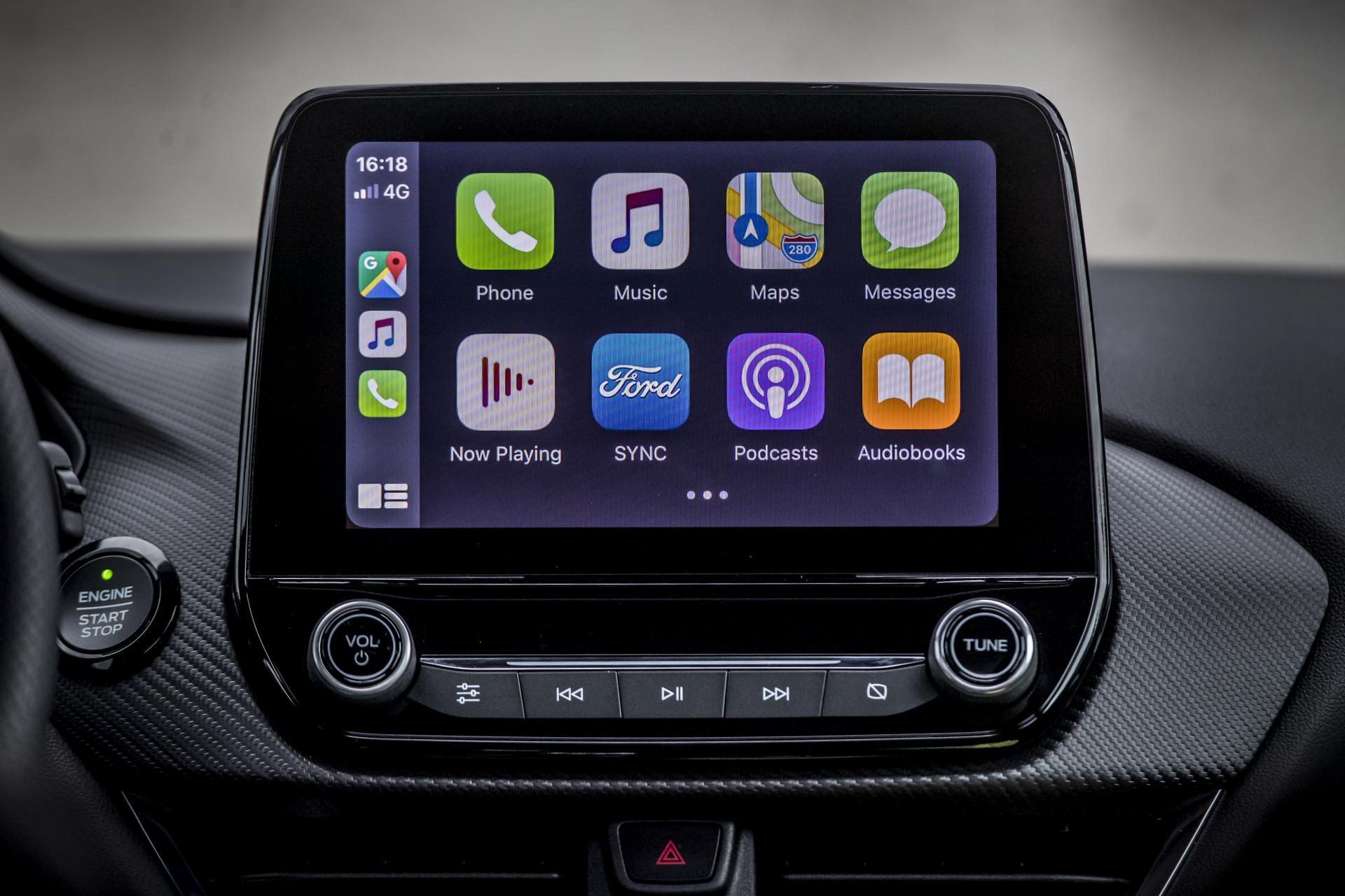 Ford Puma 1.0 EcoBoost Hybrid Apple CarPlay