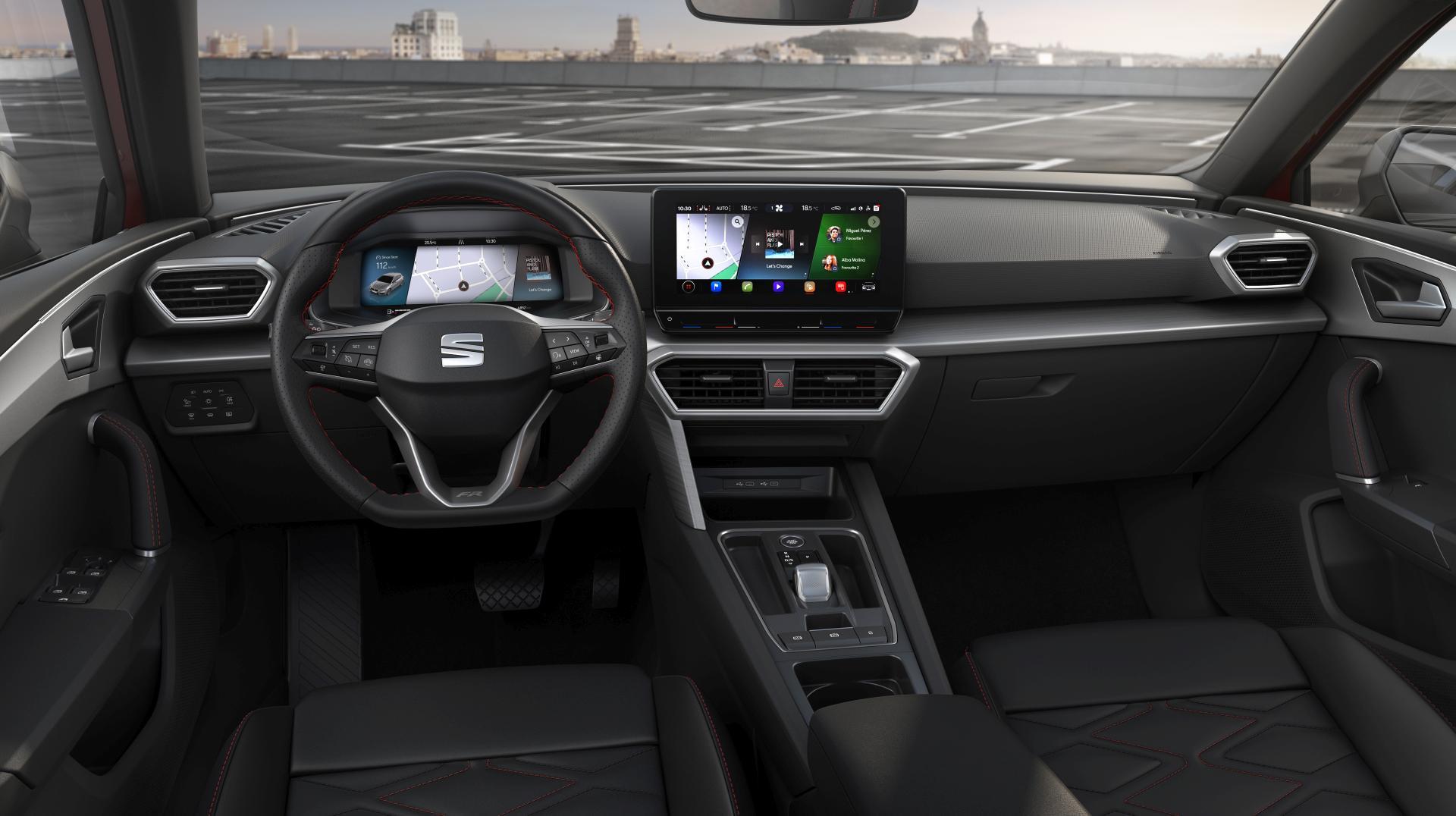 Seat Leon 2020 interior