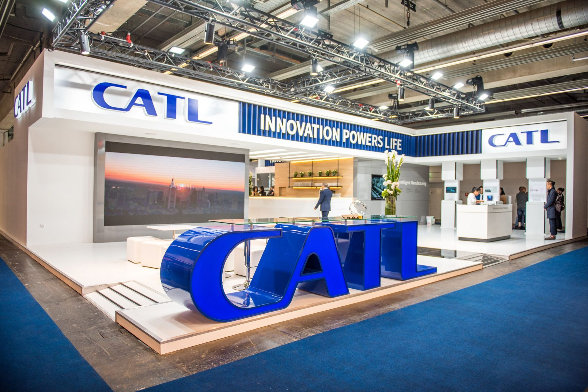 garantia 16 ani baterie CATL bateria de 2 milioane km