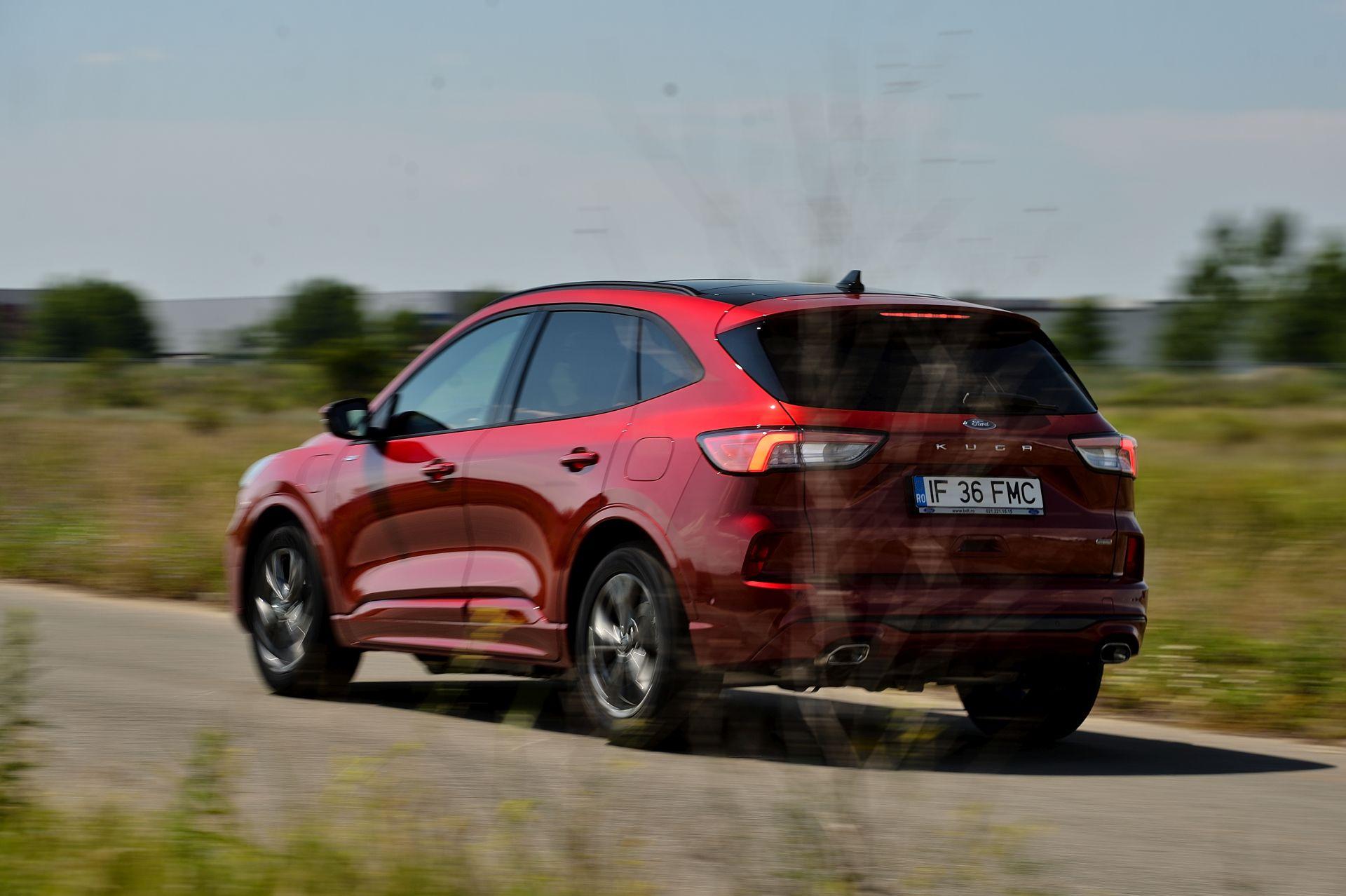Ford Kuga Plug-In Hybrid dinamic