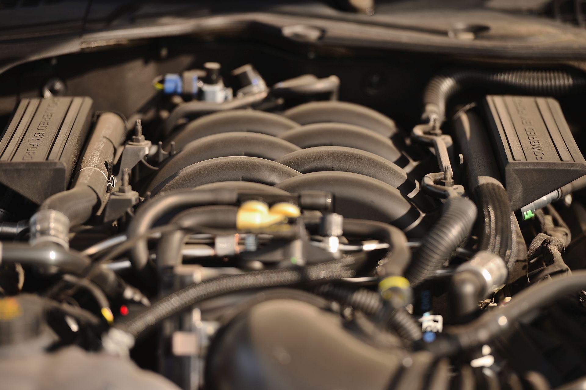 motor Ford Mustang Bullitt