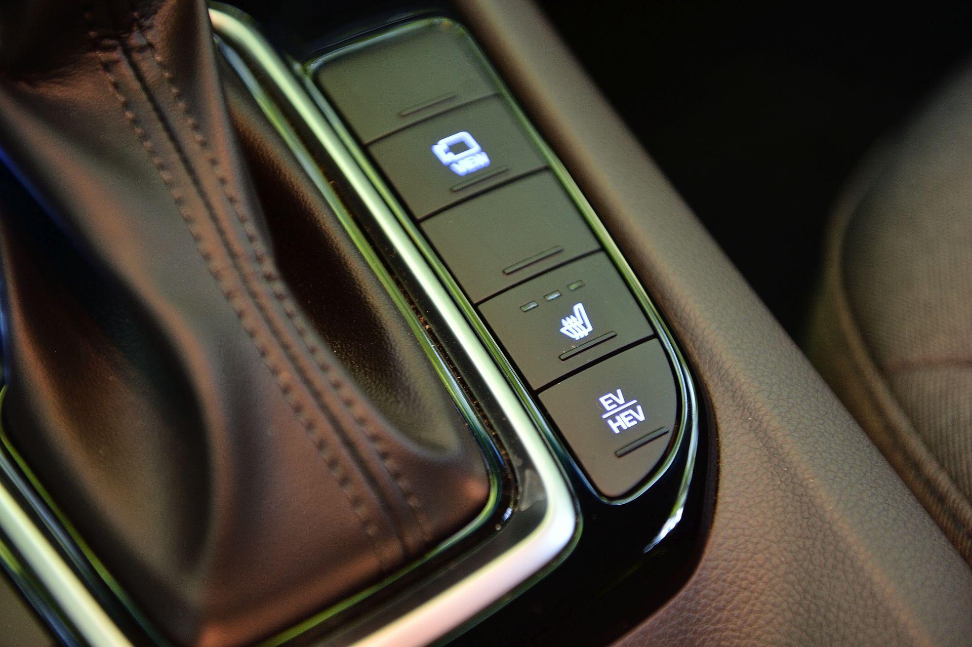 Hyundai Ioniq Plug-in Hybrid mod electric