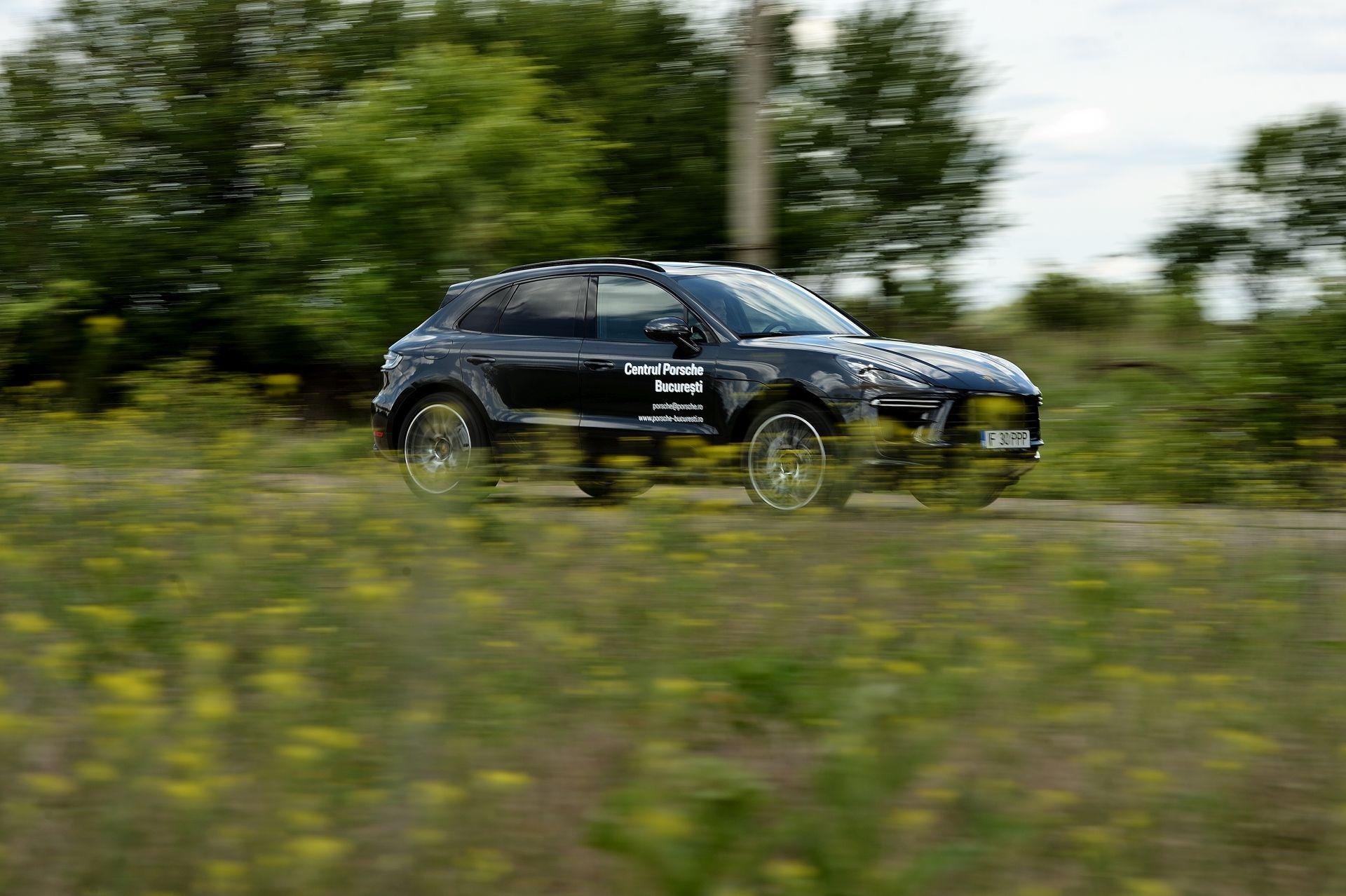 Porsche Macan Turbo exterior