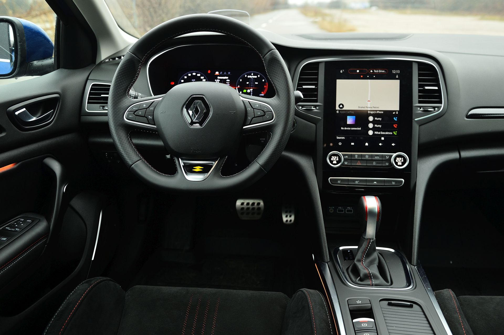 interior Renault Megane 1.3 TCe