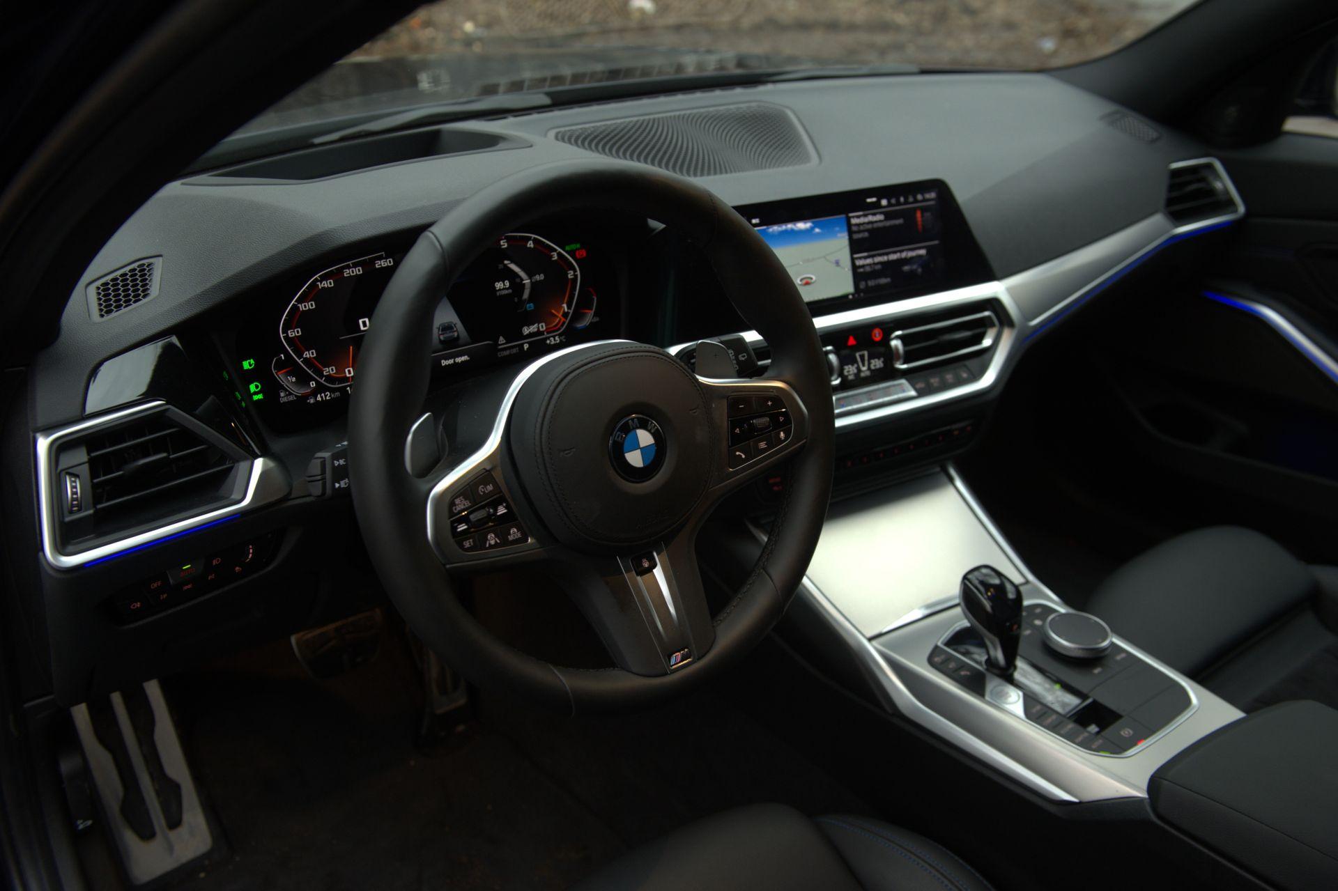interior BMW M340d xDrive