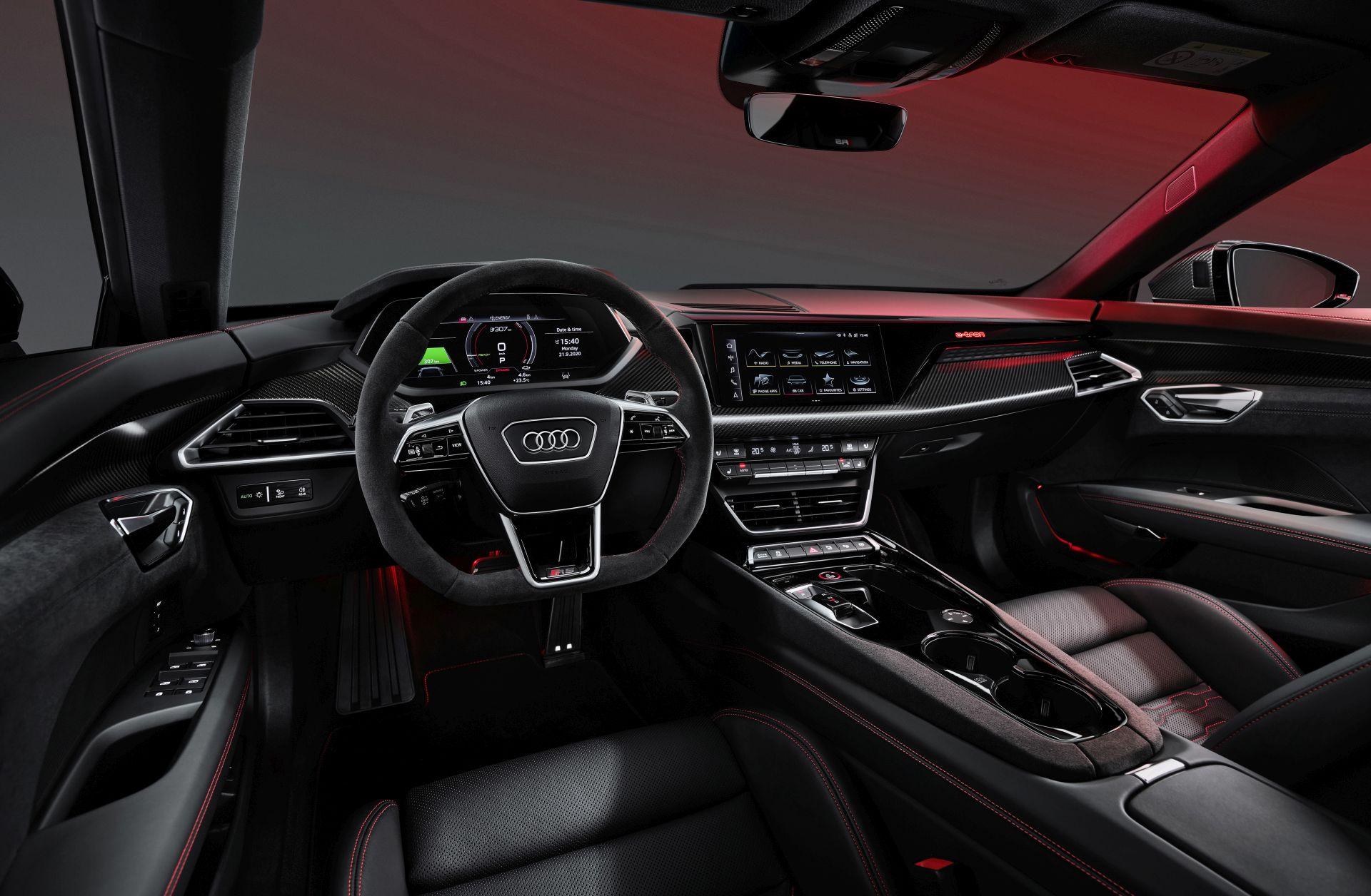interior Audi RS e-tron GT