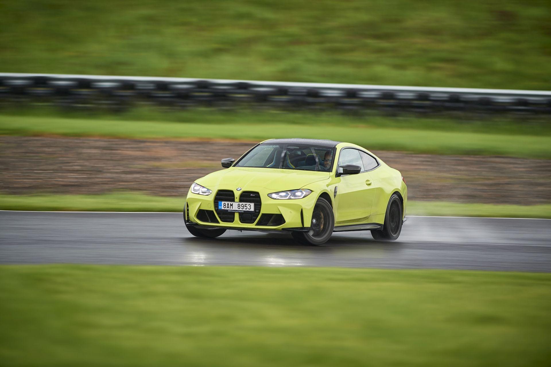 BMW M4 Competition pe Transilvania Ring