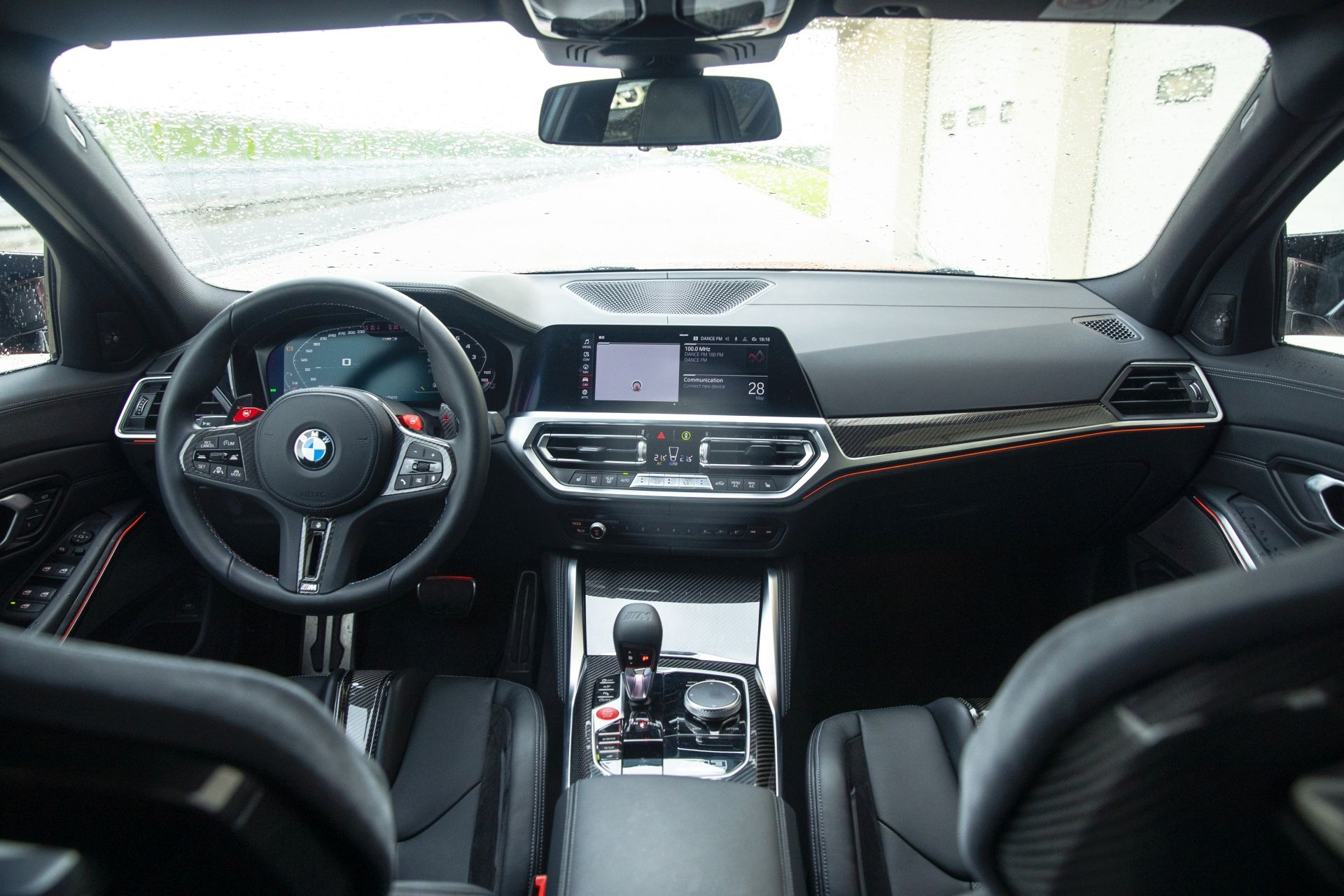 interior BMW M4 Competition