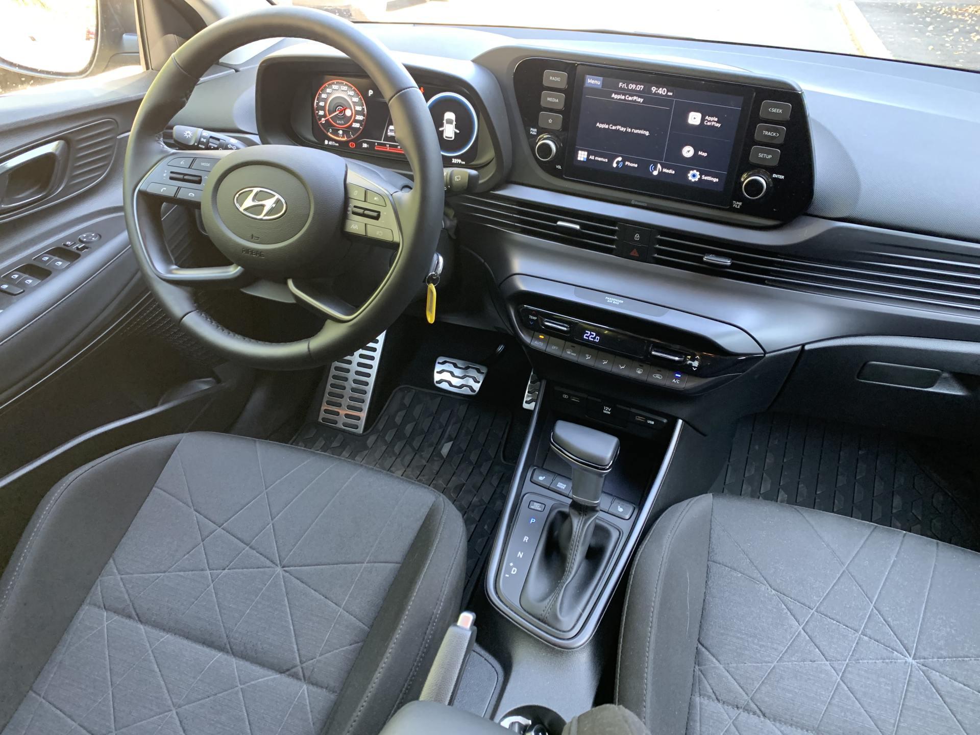 interior Hyundai Bayon